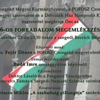Október 23-i nemzeti ünnep Szegeden