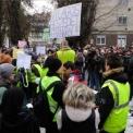 Felsőoktatási átalakítások – Szegedi középiskolások tartottak demonstrációt