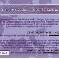 Az európai egészség-kártya a magyar utazók aduja