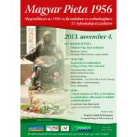 PROGRAMAJÁNLÓ – Magyar Pieta 1956