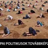 Európai politikusok továbbképzésen…
