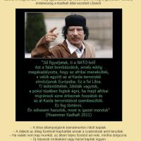 A bombázott Kadhafi üzenete 2011-ből
