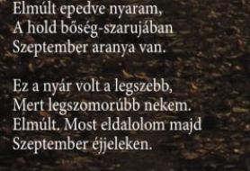 Szeptember aranya