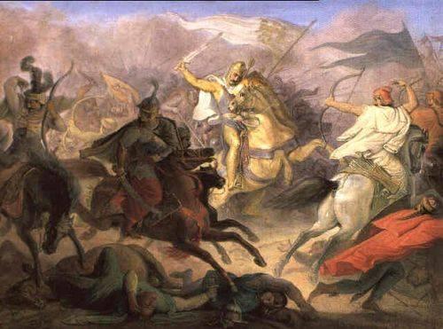 Pozsonyi csata kép